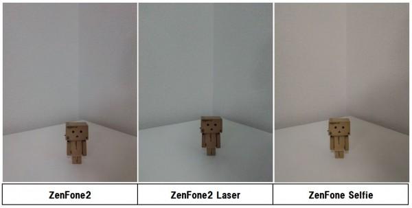 ZenFone インカメラ比較
