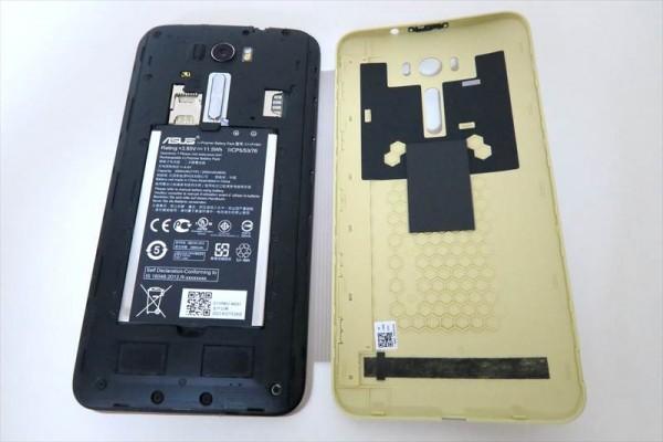 ASUS ZenFone 2 laser (ZE601KL)専用 View Flip cover
