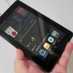 amazon 7インチタブレット「Fire タブレット 8GB」の開封の儀とファーストレビュー!Androidタブとの比較も