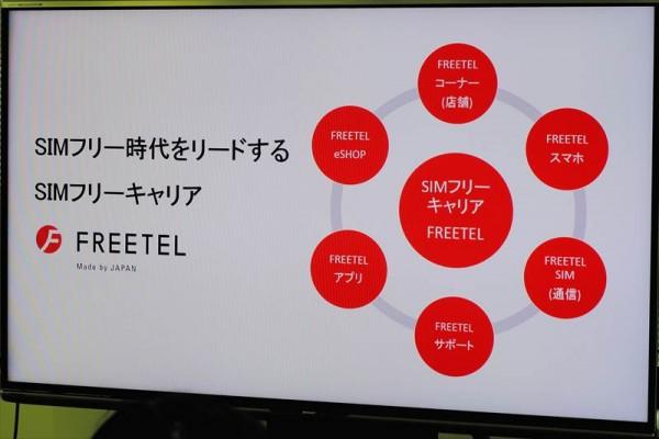 FREETEL「新商品 / 新展開 発表会」