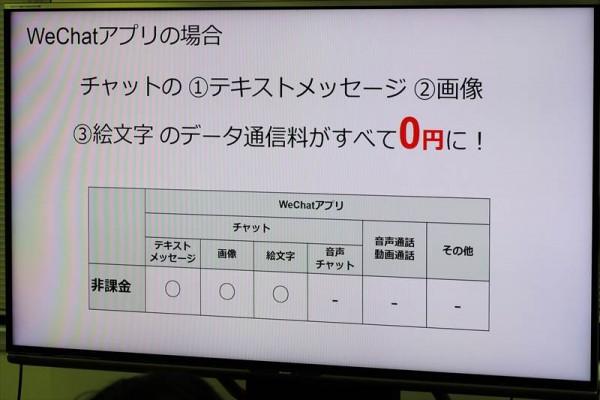 メッセンジャーアプリ「データ通信量0円サービス」を開始