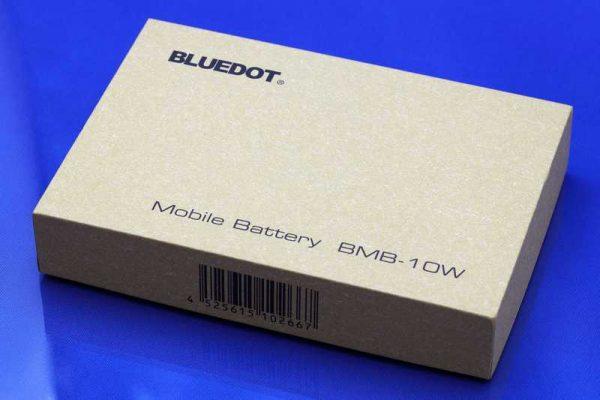 モバイルバッテリー BLUEDOT BMB-10