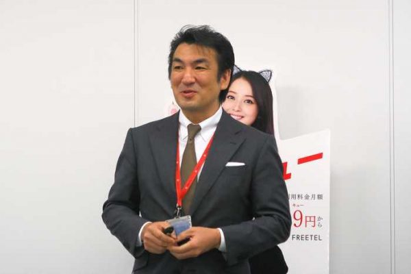 FREETEL 増田薫社長