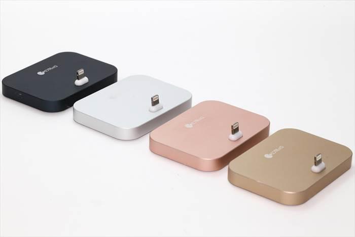 iPhone用充電スタンド
